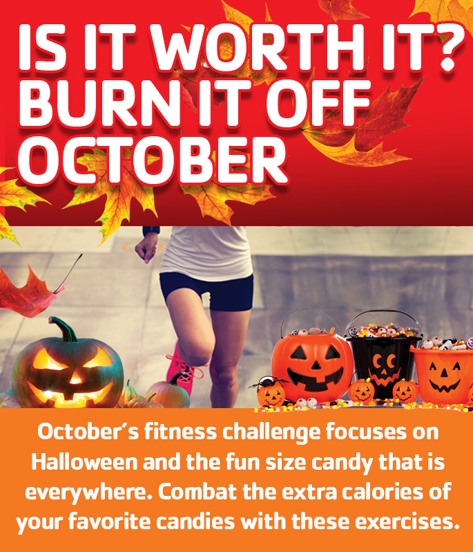 October Fitness Challenge square