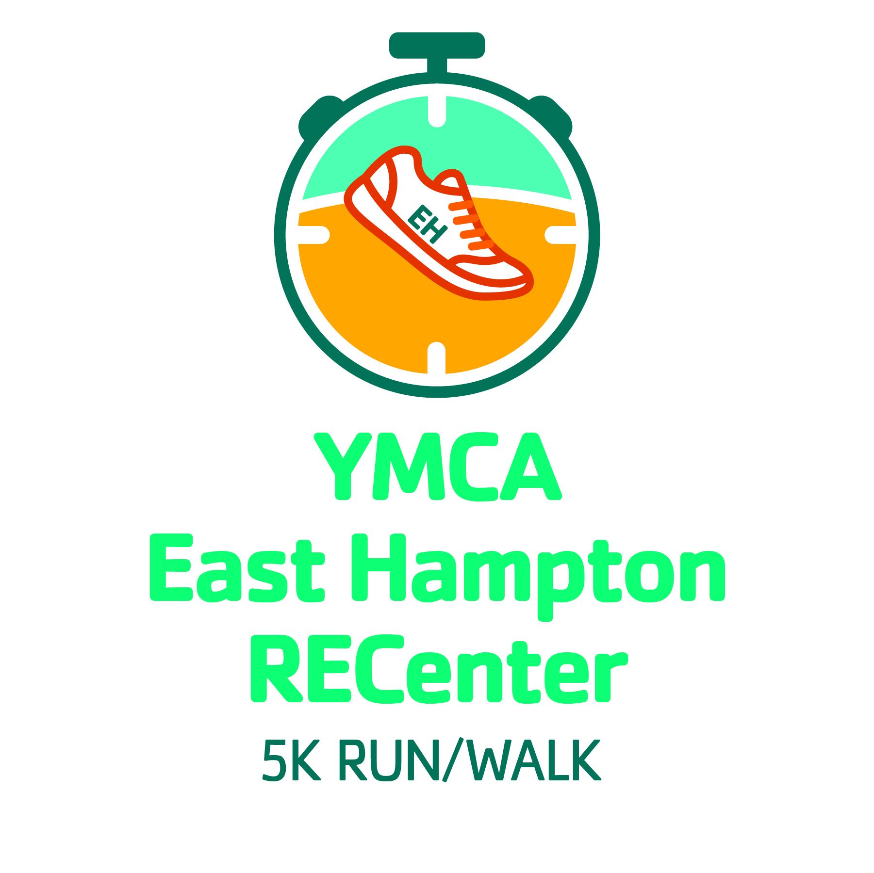 YMCA East Hampton 5K logo