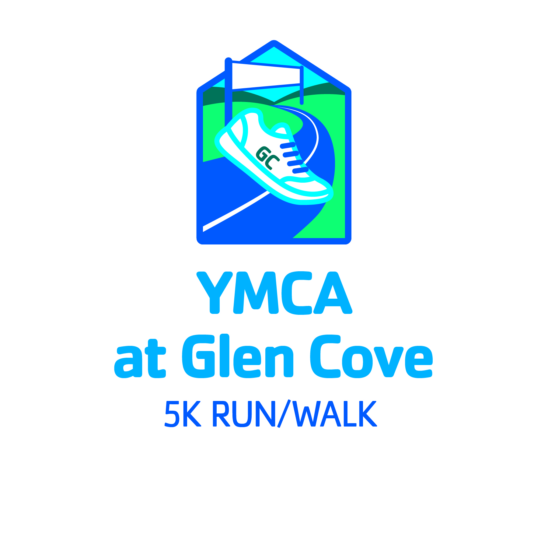 YMCA glen cove 5k run logo