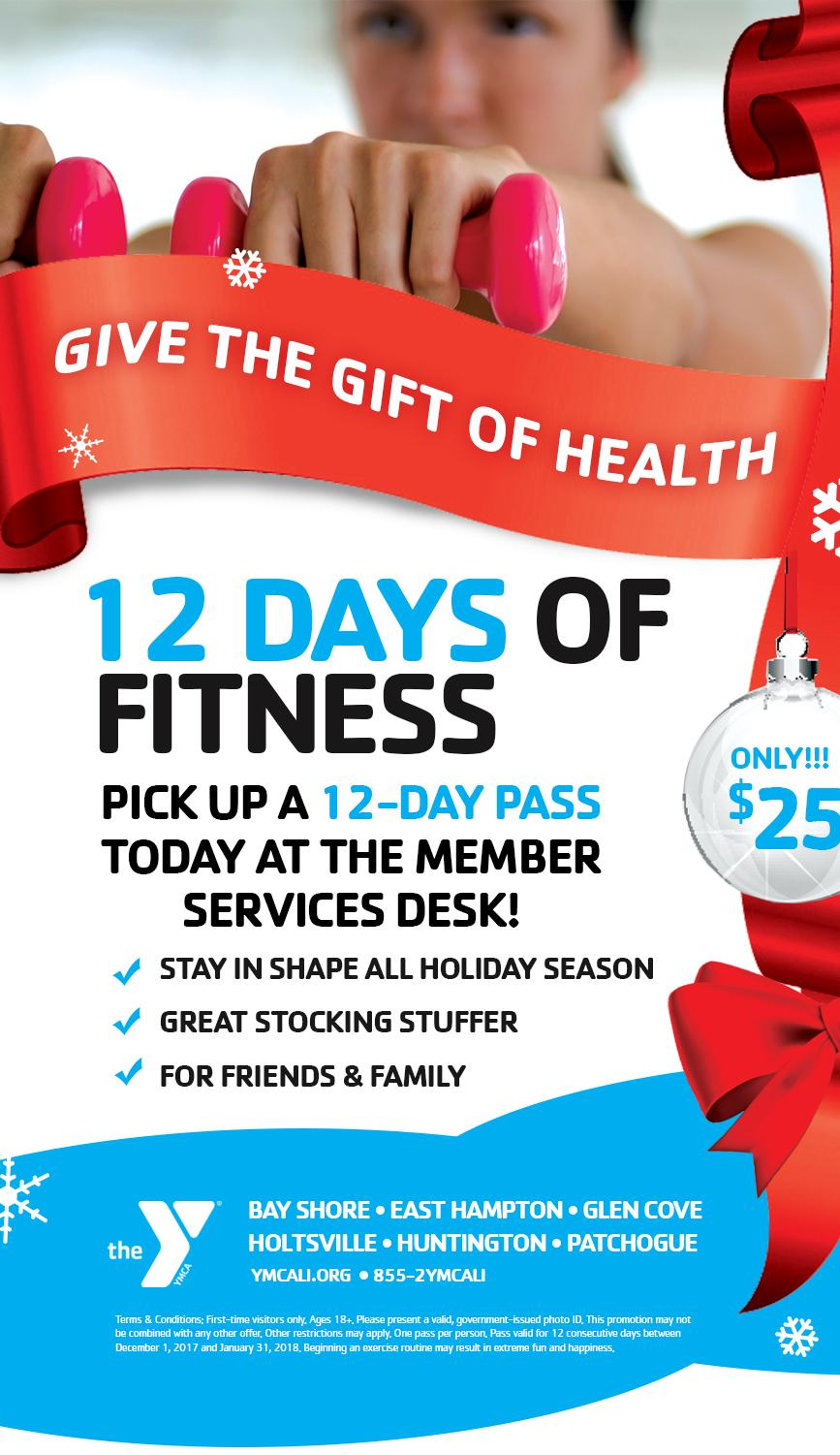 12 Days of Fitness Jingle and Offer | YMCA of Long Island