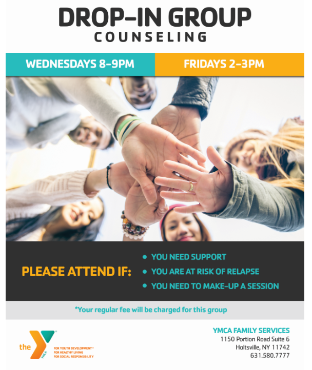 drop in counseling
