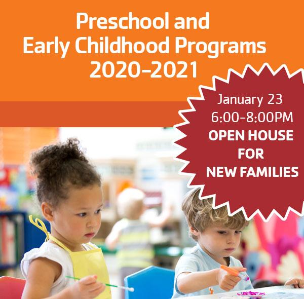 Preschool Reg Open House