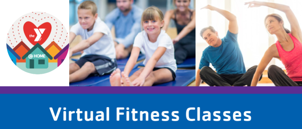 virtual fitness classes promo