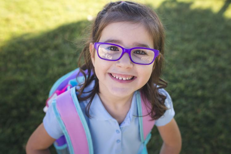 SACC girl with glasses