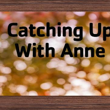 catching up with Anne fall blog